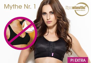 Augmentations-Mythos Nr. 1: Es reicht aus, nach der Augmentation einen Sport-BH zu tragen.