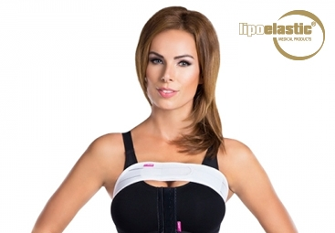 Wie man das geformte LIPOELASTIC® Brustband korrekt anlegt?
