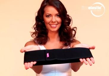 Wie zieht man das Brustband von LIPOELASTIC® richtig an?