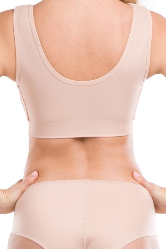 Kompressions-BH mit Brustband PS ideal   LIPOELASTIC