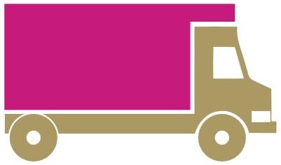 Standardlieferung (UPS, DHL, GLS)